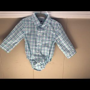Janie and Jack NWT button up onesie